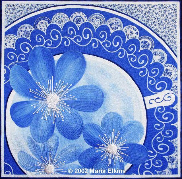 Edredón Inspiración: Maria Elkins Arte Quilts