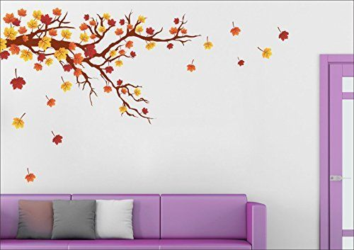 Buy Autumn Season Wall Sticker Wall Art SRG India homedecor