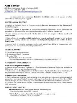 sample of a functional resume - Combination Resume Examples