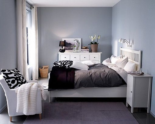 Dormitorio hemnes decoracion pinterest gray bedroom for Sillas para dormitorio ikea