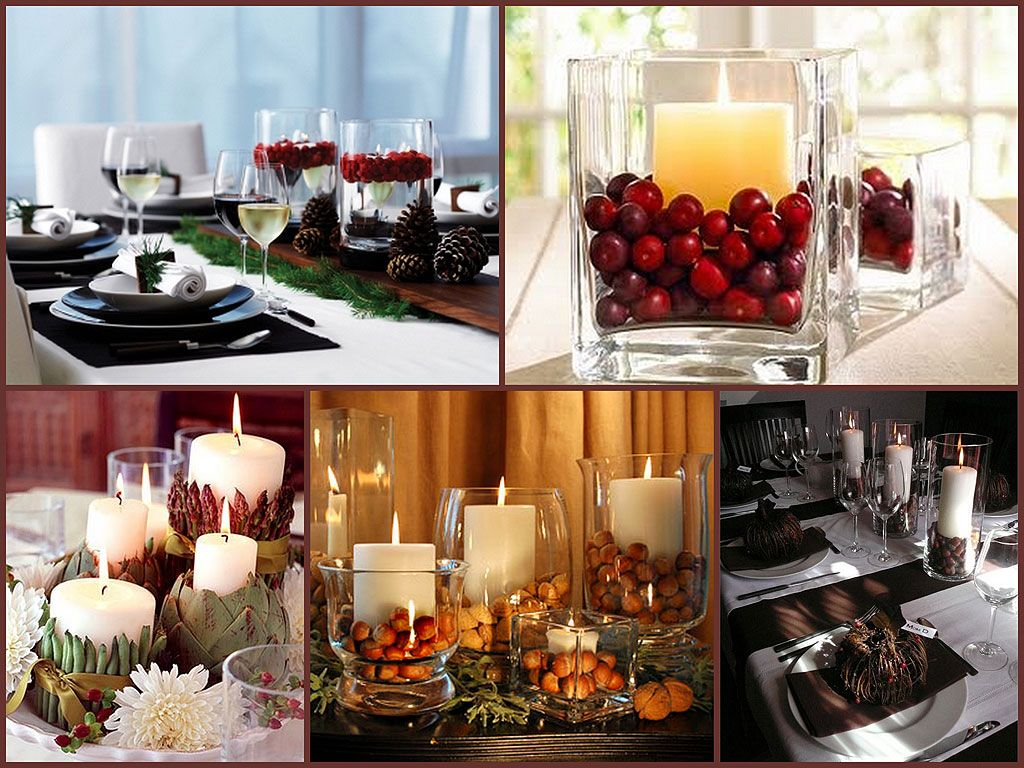 Thanksgiving Decor Ideas  Dinning Table Thanksgiving Best Dining Room Centerpiece Ideas Candles 2018