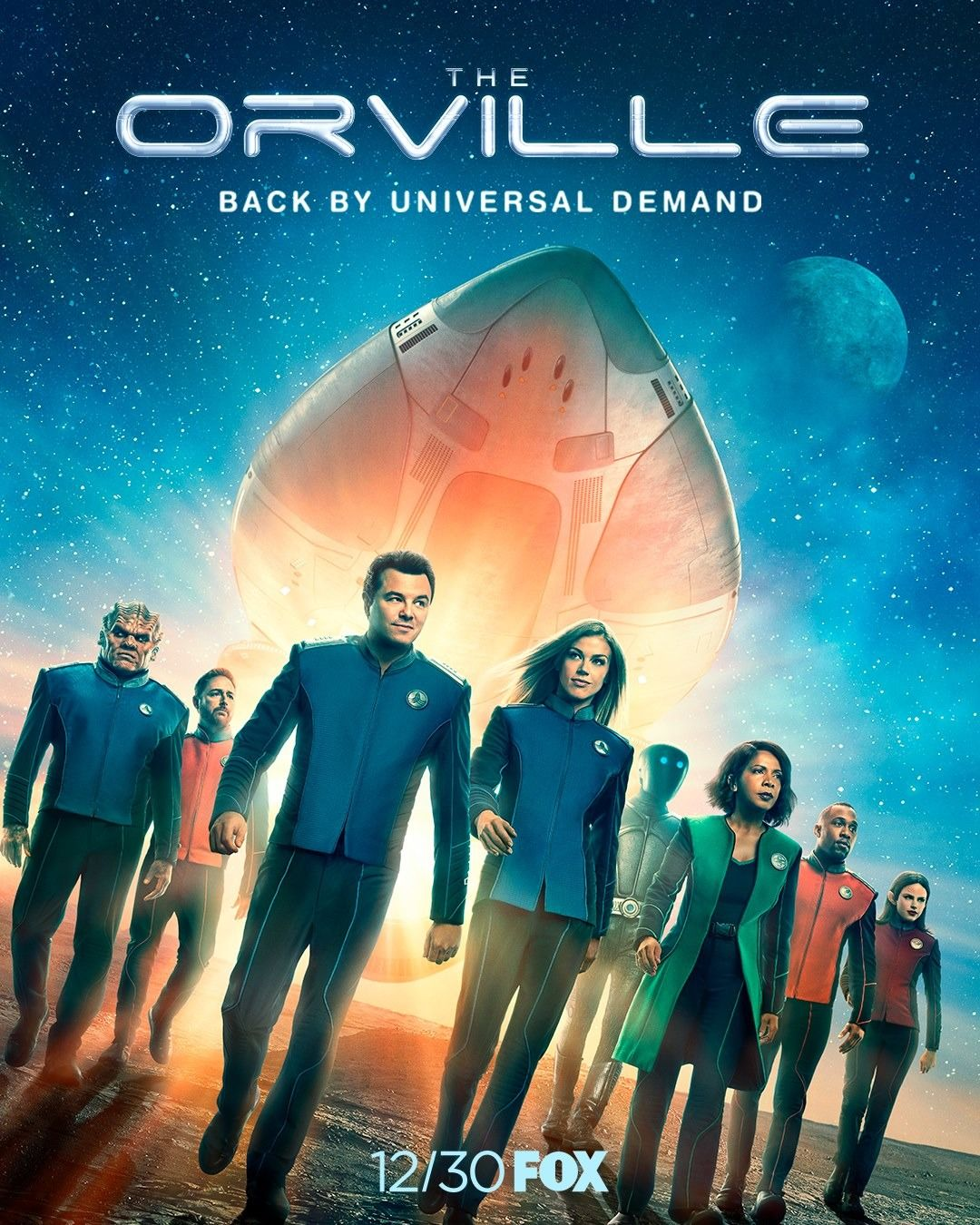 The Orville: Season 2   Movies/TV in 2019   Tv series 2017