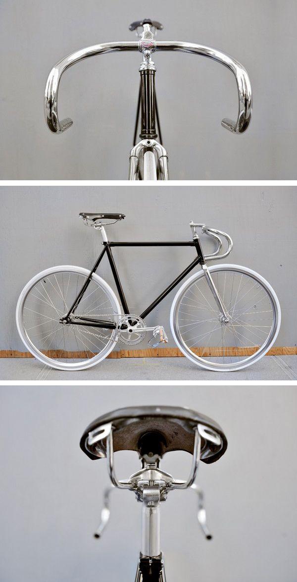"""""""Domenica Sport Fixed Gear Bike"""": A gorgeous fixie.   Bertelli"""