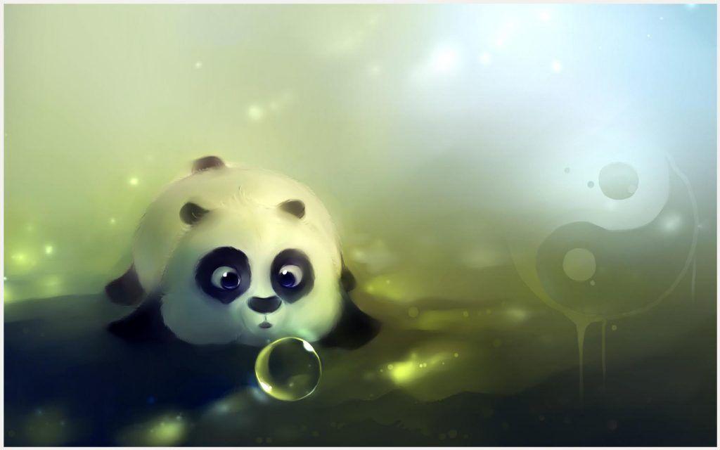Baby Panda Cute Wallpaper