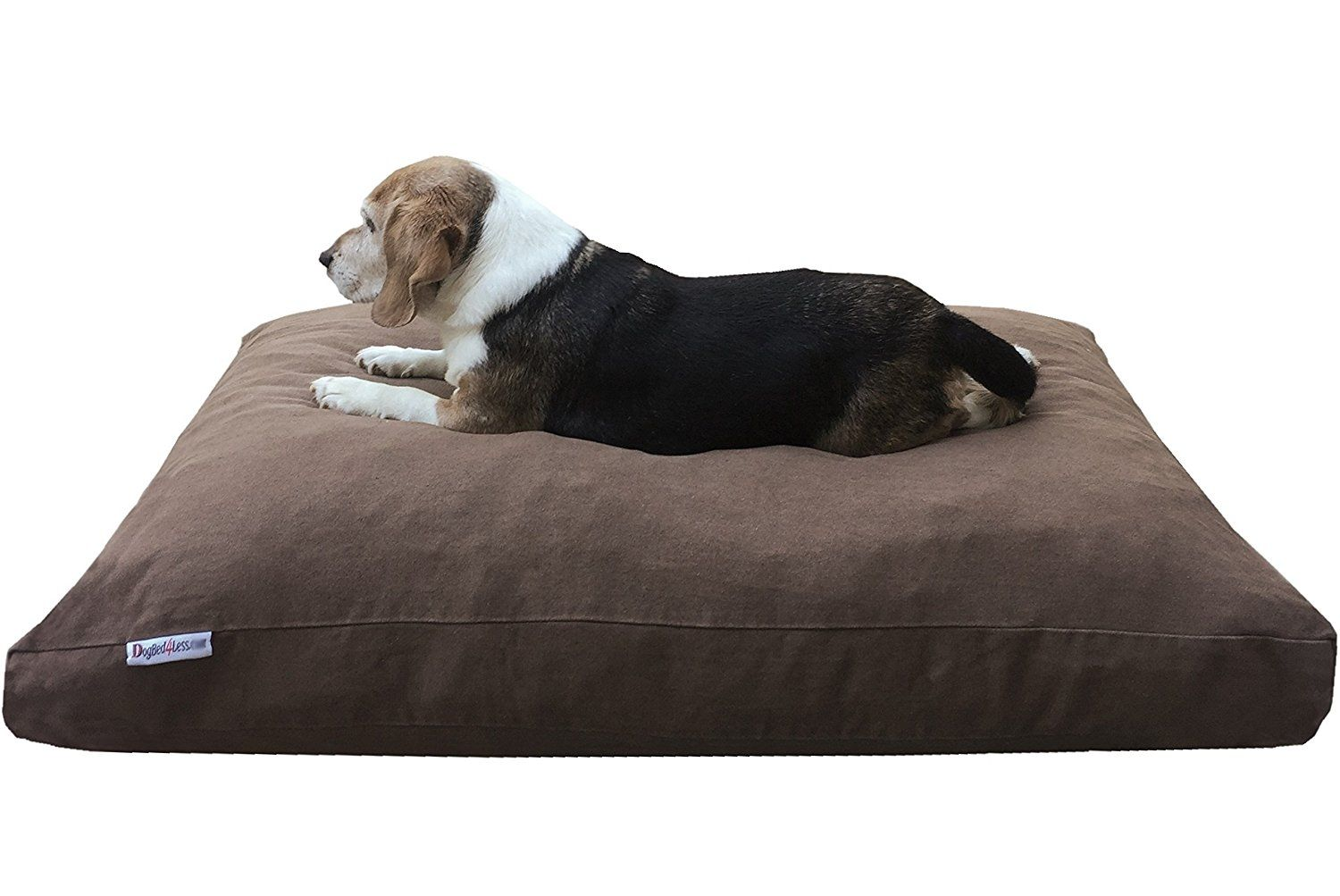 Premium Durable Orthopedic Shredded Memory Foam Dog Bed Pillow With Waterproof Internal Liner And Strong External Dog Pillow Bed Covered Dog Bed Cool Dog Beds