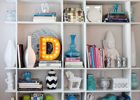 VINTAGE LETTERS - Illuminated letter - Home décor - Touch ...