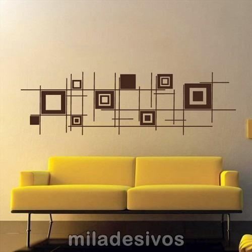 paredes com pintura coloridas desenhos geometricos salas - Pesquisa ...