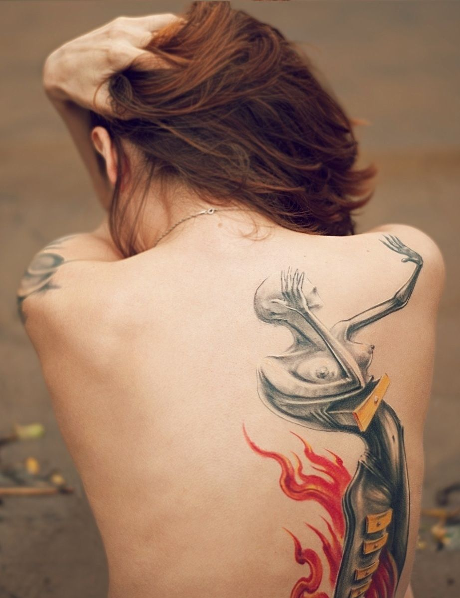 back tattoo ideas for women that are simply wow tattoo