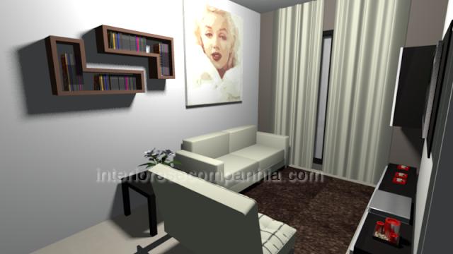 Interiores e Companhia: #sala