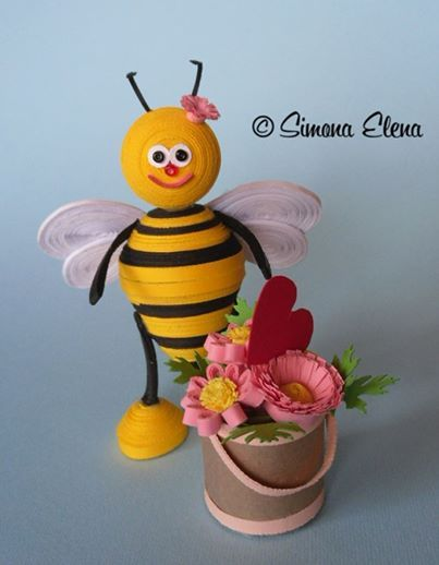 api bee quilling