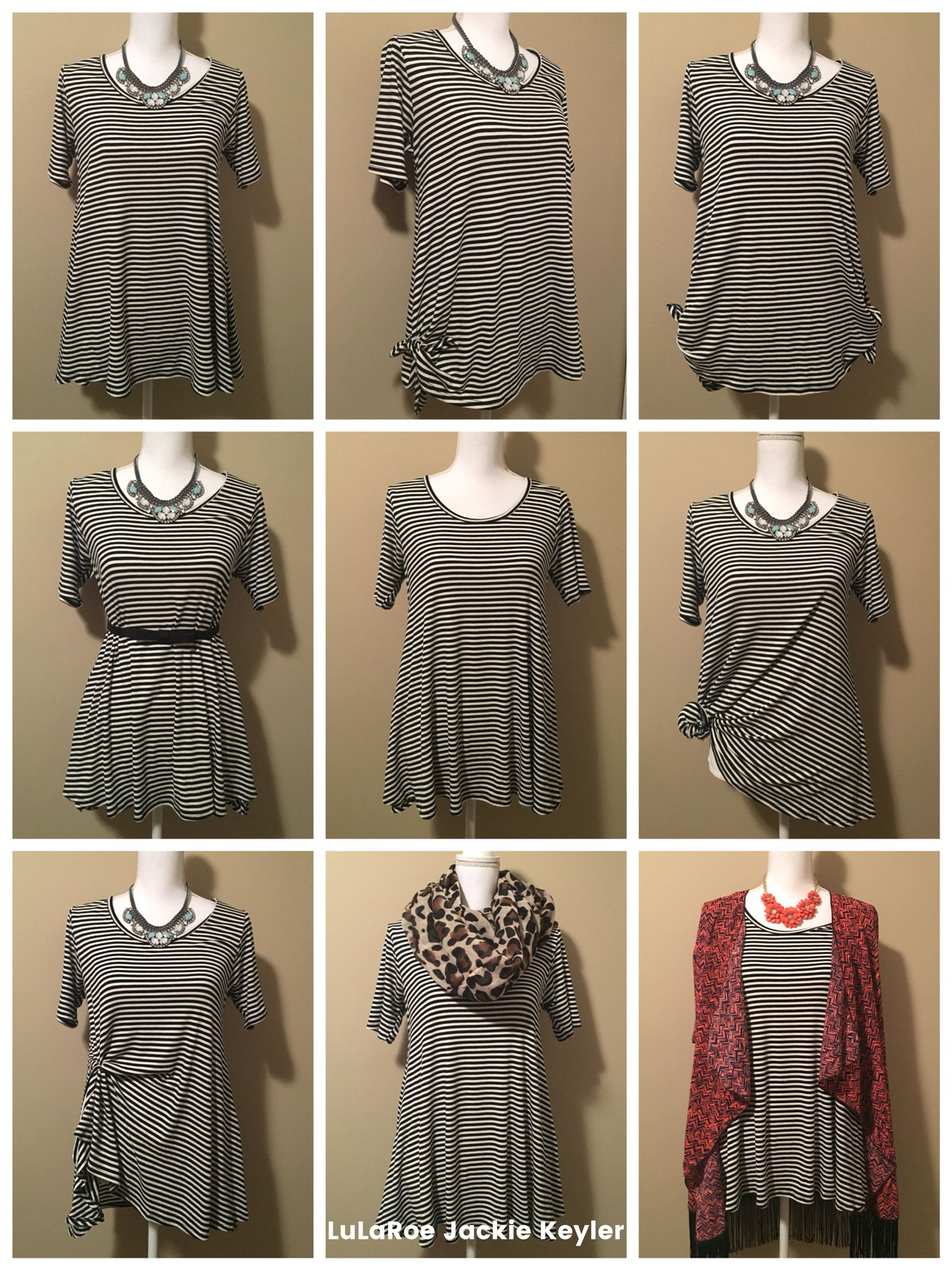 9 ways to wear your LuLaRoe Perfect Tee! | LuLaRoe Outfit ...