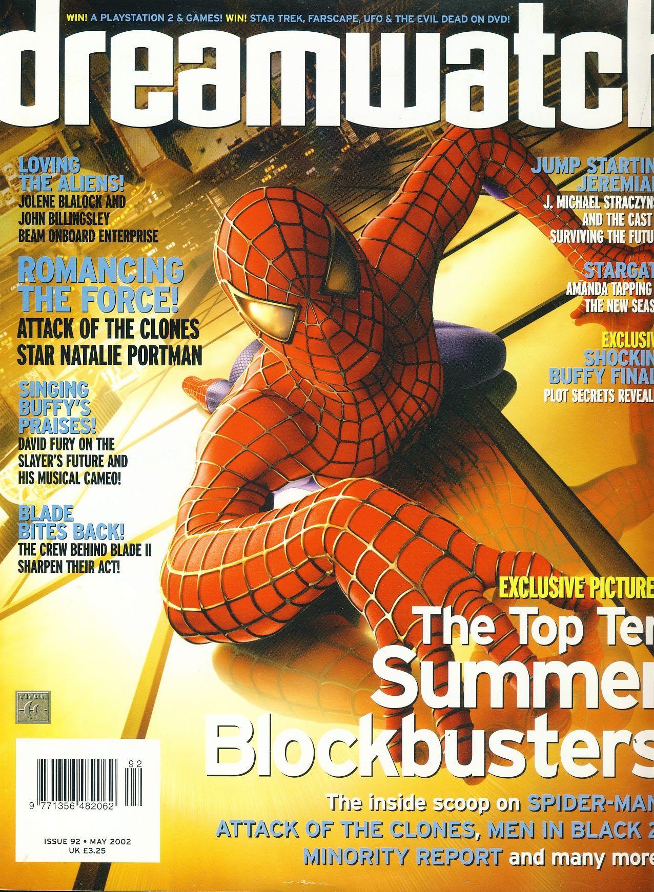 Dreamwatch 92 Natalie Portman J Michael Straczynski Amanda Tapping Spiderman Ref100606 Amanda Tapping Natalie Portman Spiderman