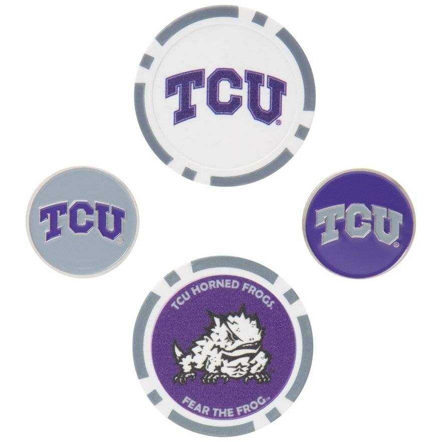 TCU Horned Frogs Ball Marker Set