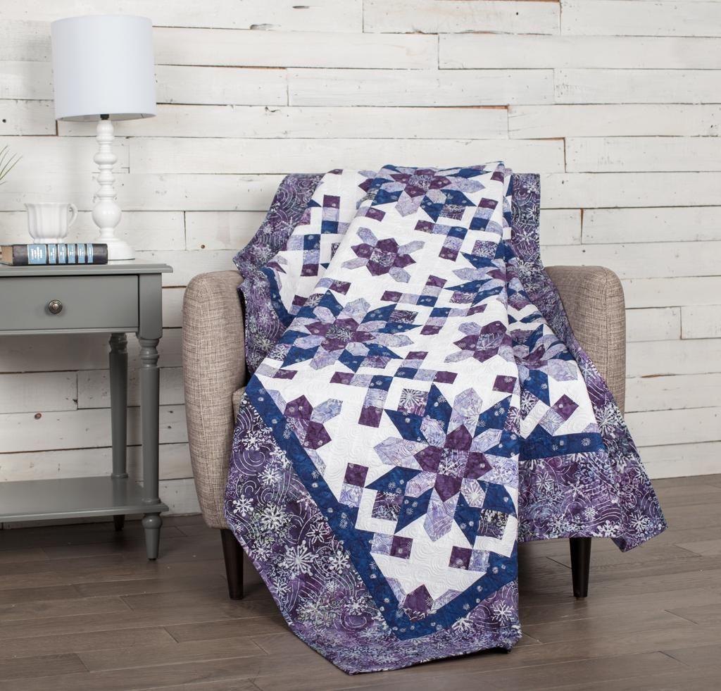 Robert Kaufman Artisan Batiks Noel Winter Rosettes Quilt ... : white batik quilt fabric - Adamdwight.com