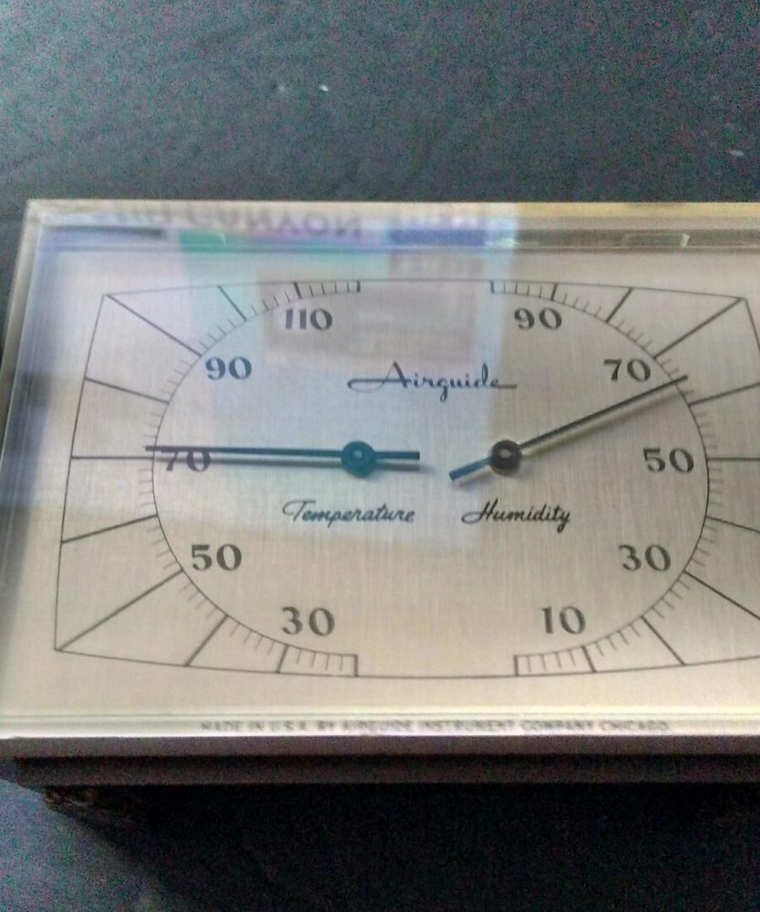 antique airguide temperature humidity usa airguide instrument co rh pinterest com airguide instrument company history airguide instrument repair