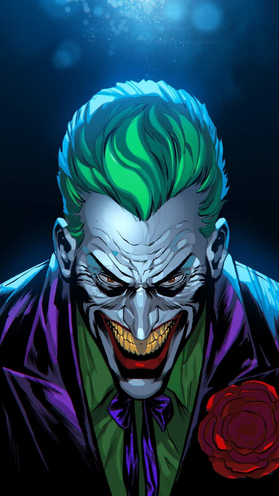 Joker Digital Art IPhone Wallpaper wallpaper