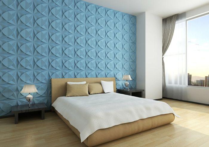 Schlafzimmer Wandgestaltung Wandpaneele 3d Wandpaneel Wandpaneel  Wandgestaltung