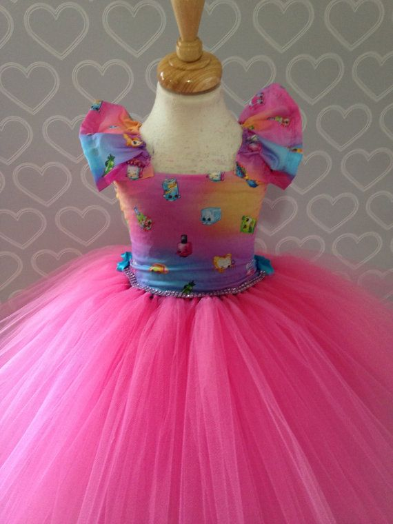 Shopkins tutu dress/shopkins dress/shopkins by Tutucutebowtique16 ...