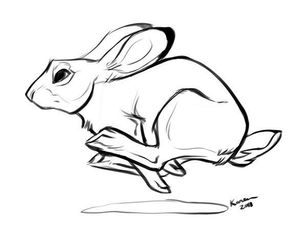 Run Rabbit Run By Kayjkay On Deviantart Rabbit Illustration Drawing Rabbit Tattoos Rabbit Drawing