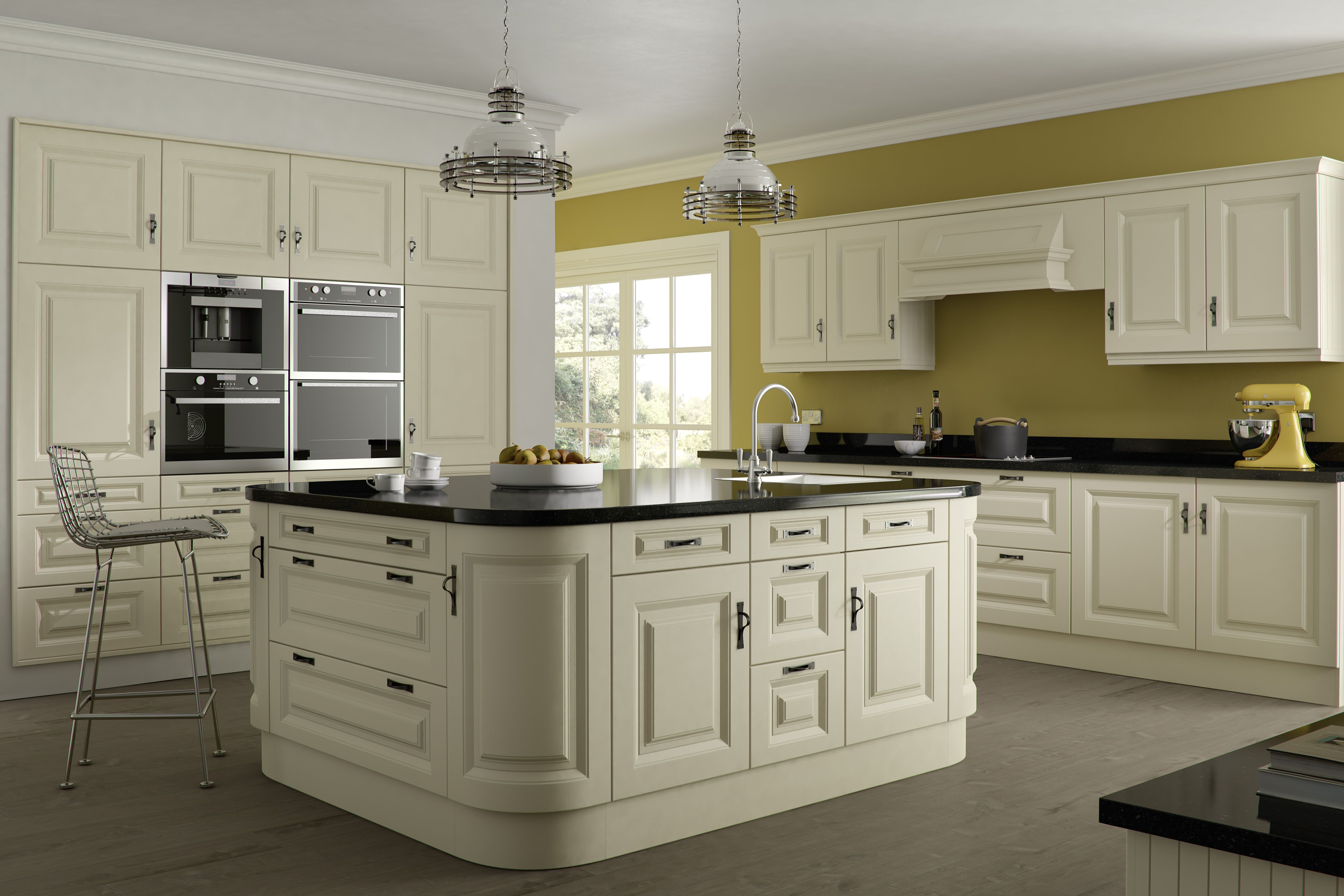 Oxford Ivory Ash - Wow....   Ivory kitchen cabinets ...