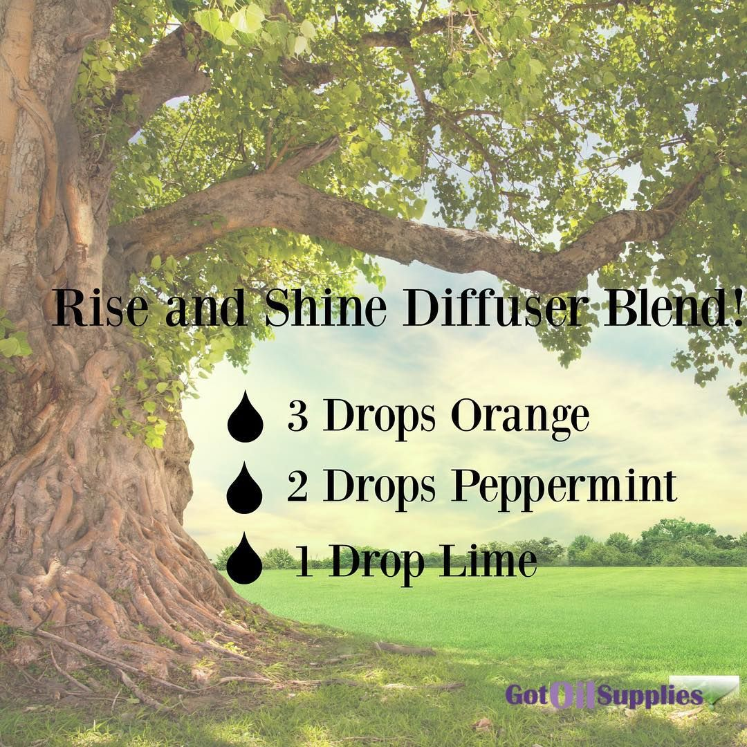 Maybe this diffuser blend will help you get up and going! https://www.gotoilsupplies.com/