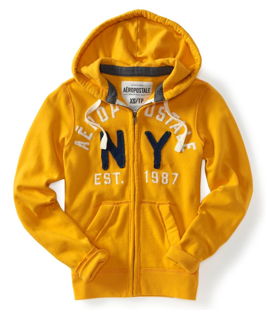 3fa6c8964 aeropostale hoodies for men | aeropostale mens aero ny87 full zip hoodie