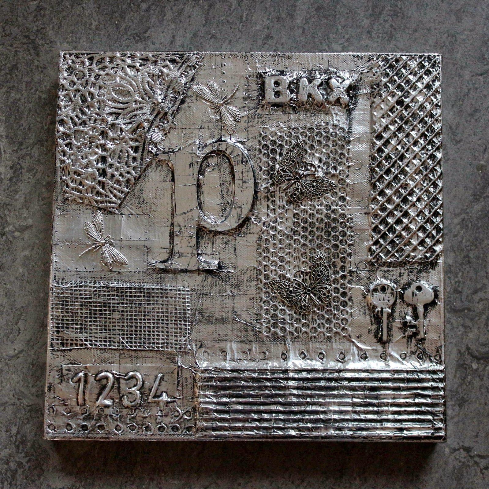 I Hverdagen Og Andre Dage Billedekunst Med Aluminium Tape Gor Det Selv Tape Art Gor Det Selv Tapet