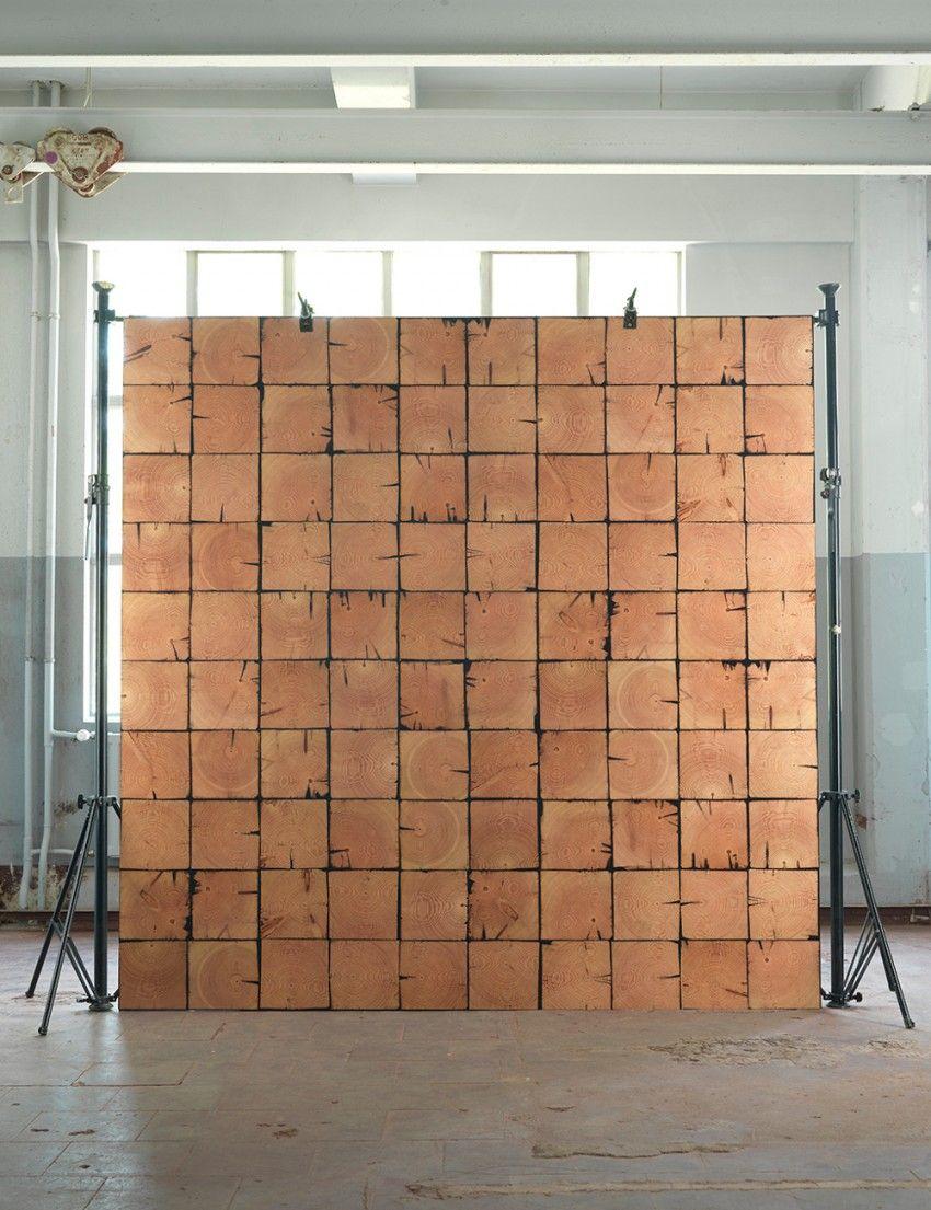 Scrapwood Wallpaper PHE-09 by Piet Hein Eek 9m Roll