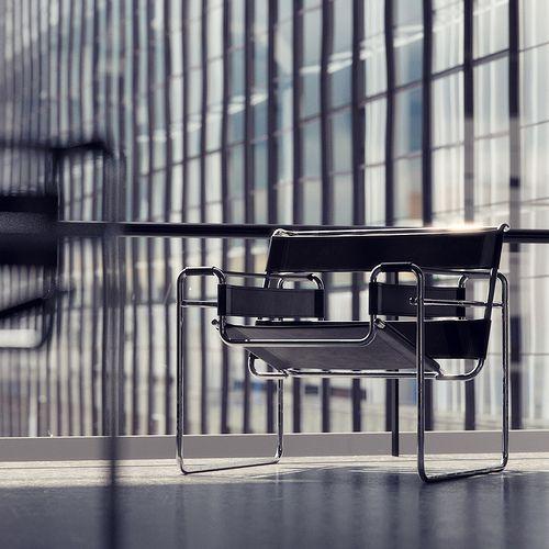Bauhaus Dessau El diseño y Sillas
