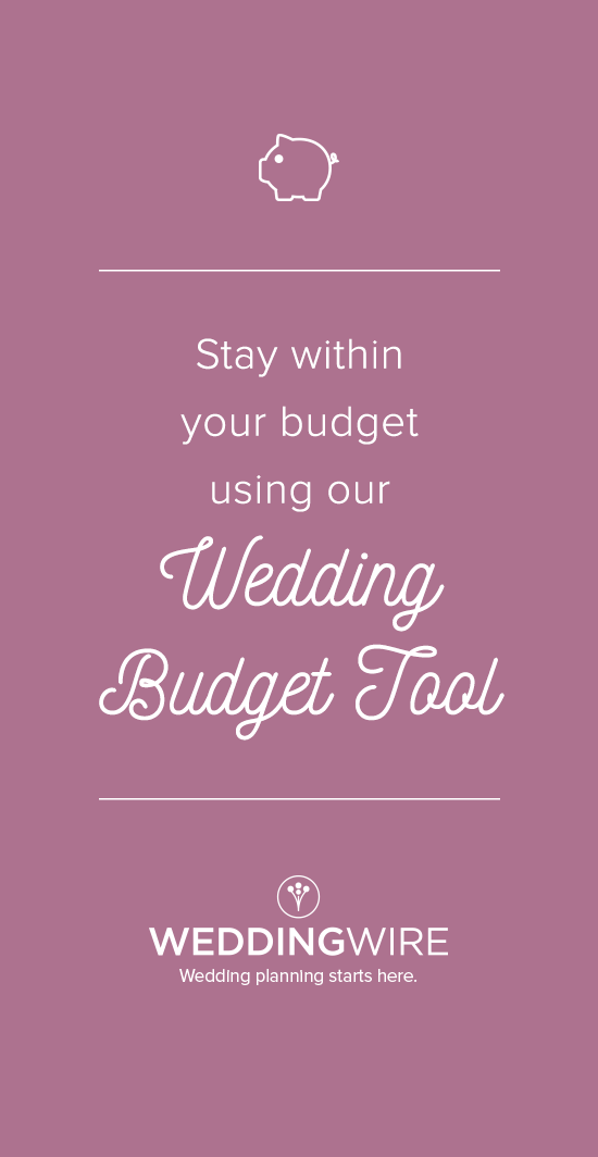 easily stay within your budget using our free wedding budget calculator