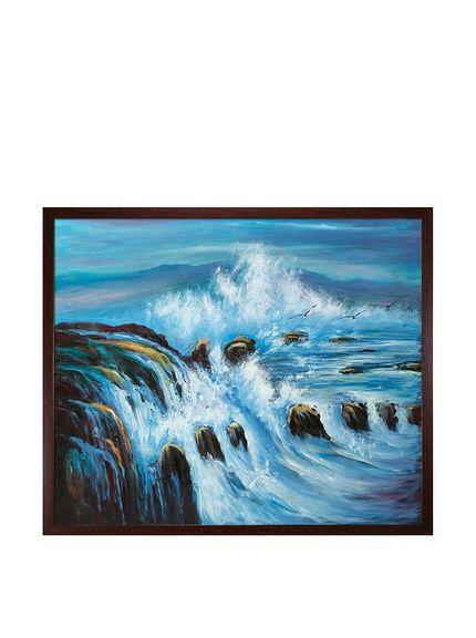 """Threatening Tides"" Framed Hand-Painted Oil Reproduction, http://www.myhabit.com/redirect/ref=qd_sw_dp_pi_li?url=http%3A%2F%2Fwww.myhabit.com%2Fdp%2FB00ULAGGZM%3F"