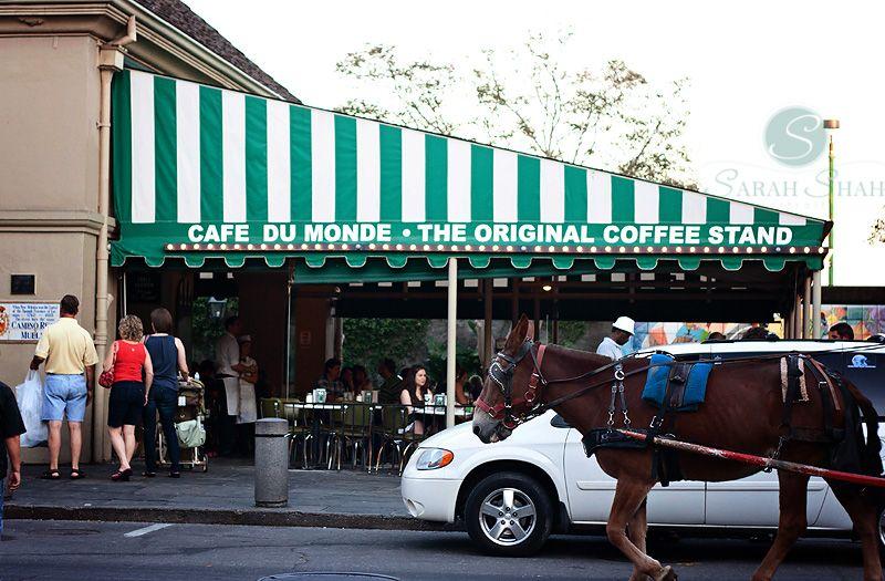 The Crescent City New Orleans Travel Cafe Du Monde New Orleans