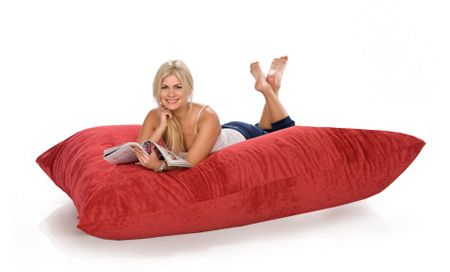 Giant Floor Pillows - Oversized Floor Pillows - Jaxx Crash Pad la casa Pinterest Oversized ...