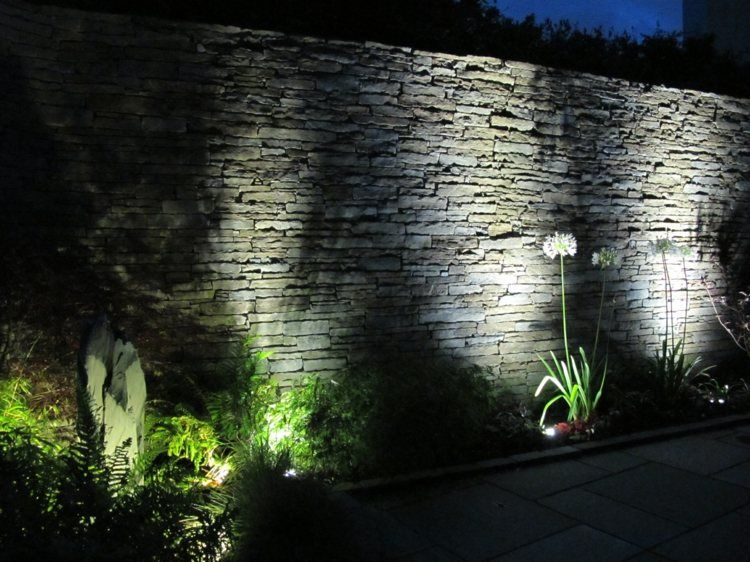 Clairage ext rieur led en 50 id es de luminaire de for Led exterieur jardin