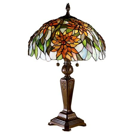 I Pinned This Dahlia Table Lamp From The Dale Tiffany Event At Joss Main Tiffany Style Lamp Tiffany Lamps Living Room Stained Glass Lamps Dale tiffany table lamp