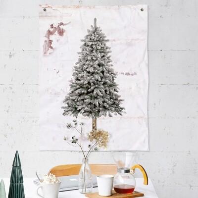 Kerstboom Wit Kerstboom Dennennaalden Kerst