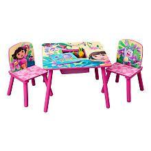 Dora the Explorer Table and Chair Set  sc 1 st  Pinterest & Dora the Explorer Table and Chair Set   Baby   Pinterest   Babies
