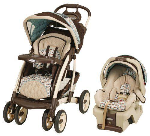 Graco Quattro Tour Travel System With Snugride30 Carlise Http Www Amazon Com Gr Car Seat Stroller Combo Travel Systems For Baby Baby Strollers Travel System