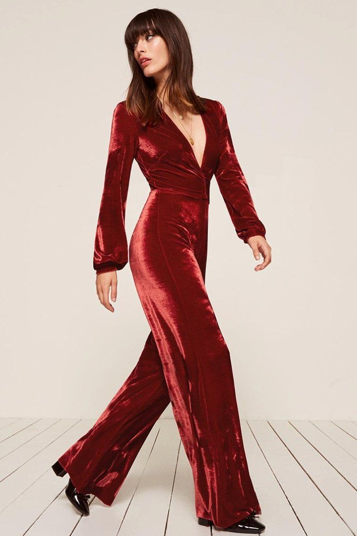 0012aaa14b6e Ditch the Dress This Holiday Season — These 15 Red Jumpsuits Are Beyond Chic