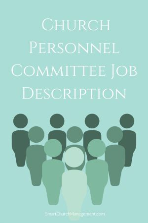 Example Church Personnel Committee Job Description  Job Description