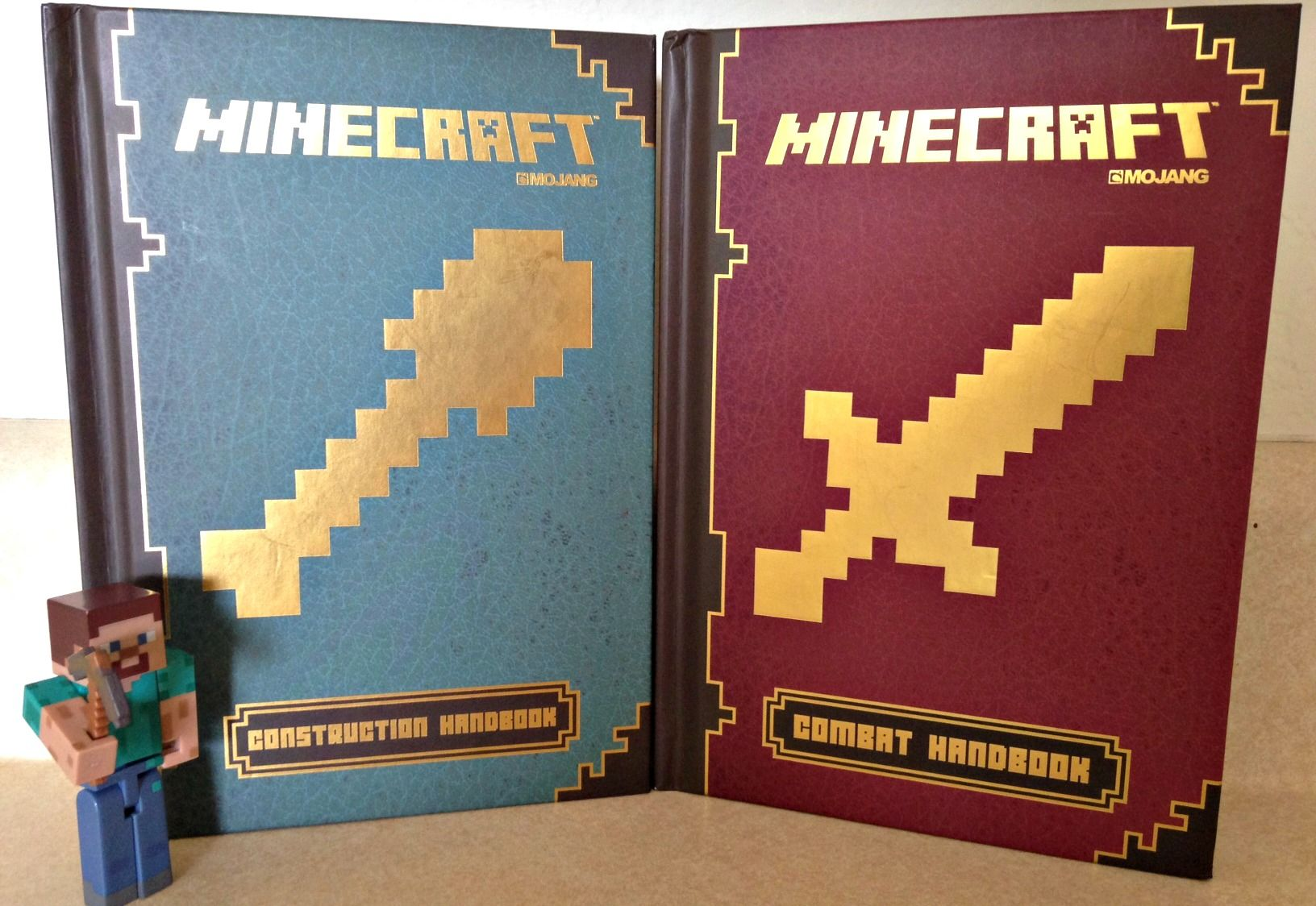 Minecraft Combat Handbook & Minecraft Construction Handbook