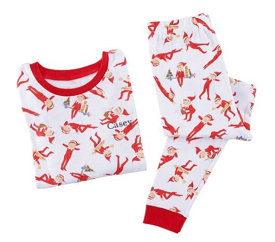The Elf On The Shelf 174 Cotton Tight Fit Pajamas Elf On