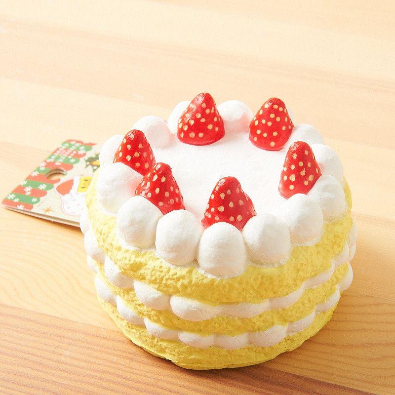 Squishy Wish : Sammy Christmas Cake Squishy Charm Kawaii accessories and Christmas time