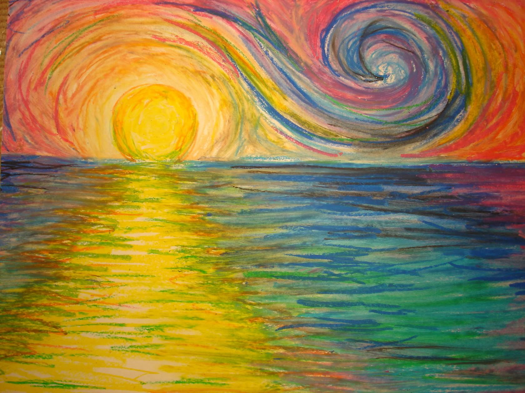 Oil Pastel Drawings On Pinterest Art