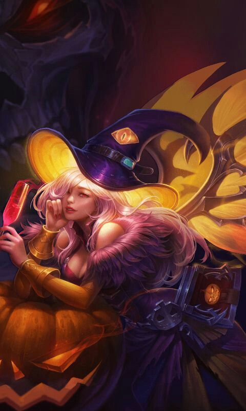 Lauriel Wallpaper Aov Fantasy Witch Witch Art Satan Witches Butterflies Android
