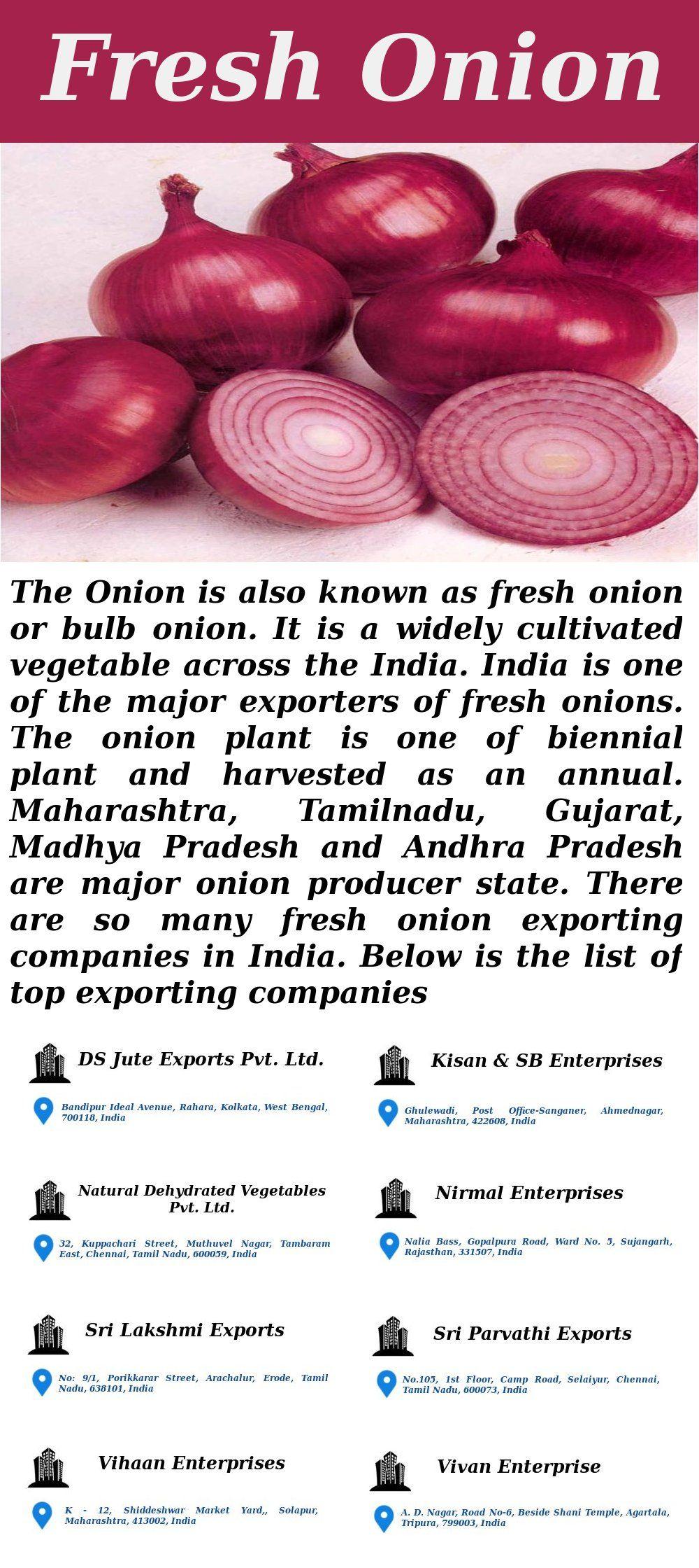 Fresh Onion Exporting Companies in India  #freshOnion