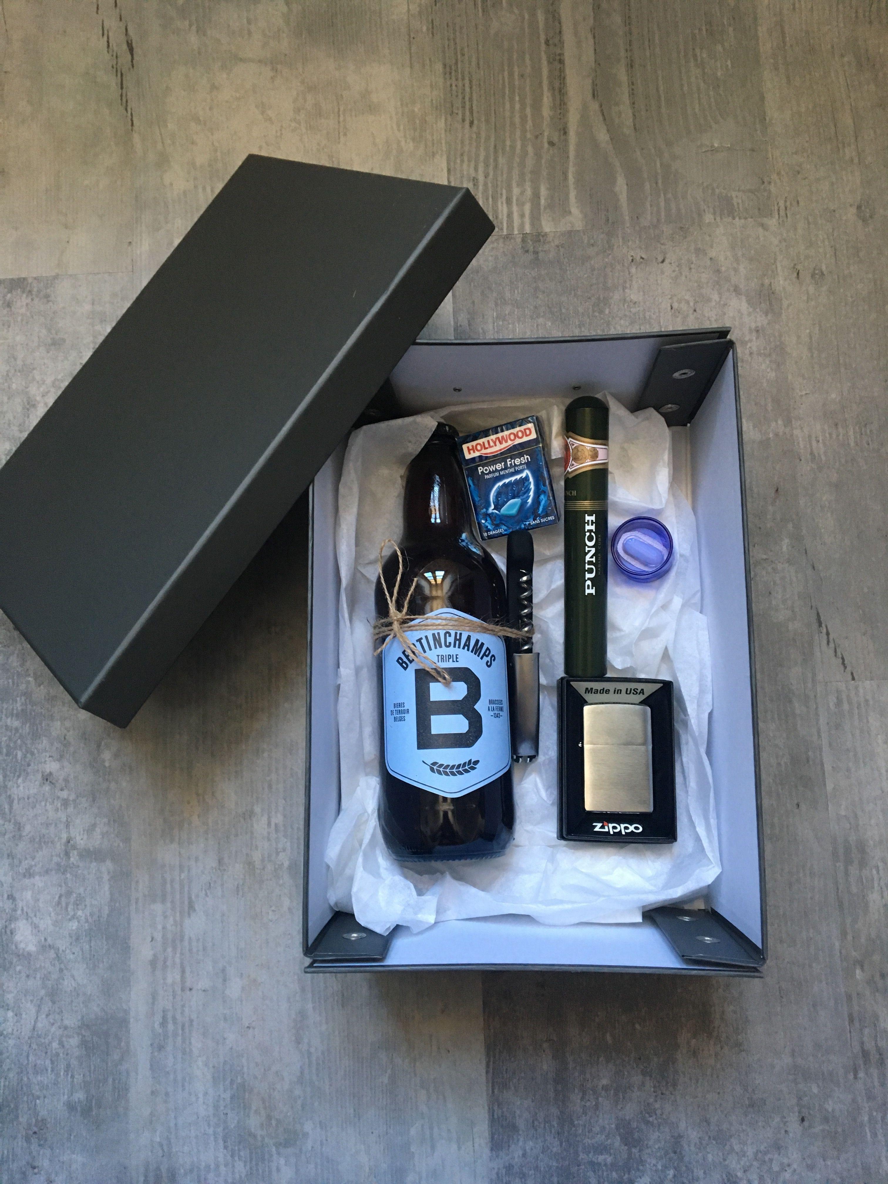 bestman gift cadeau t moin homme bi re d capsuleur chewing gums briquet cigare d co mariage en. Black Bedroom Furniture Sets. Home Design Ideas