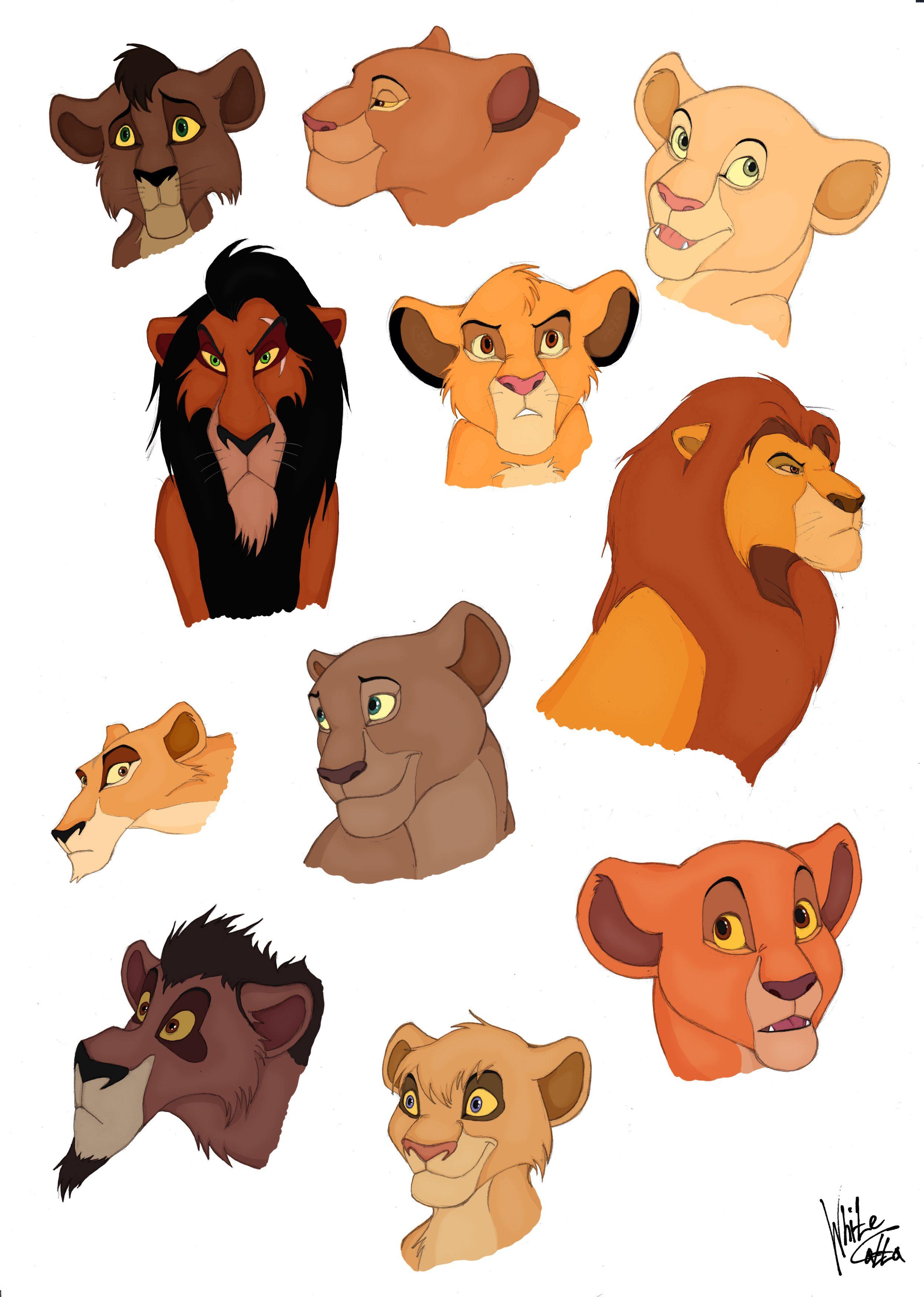 lion king characters full hd wallpaper