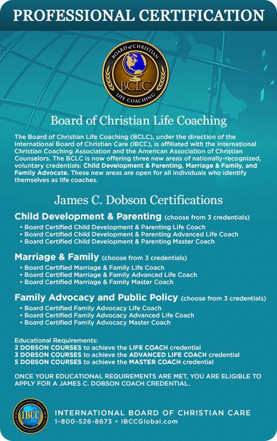 American Association of Christian Counselors » The James C. Dobson ...
