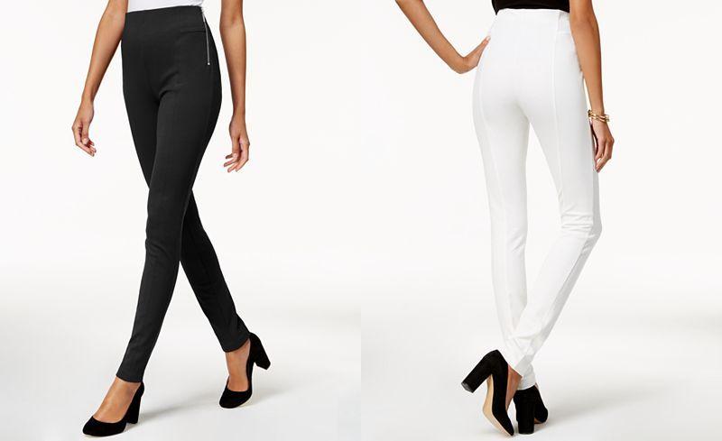 28d53270d0238 INC International Concepts High-Waist Skinny Pants